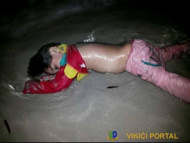 malena djevojcica utopljenik iz Sirije