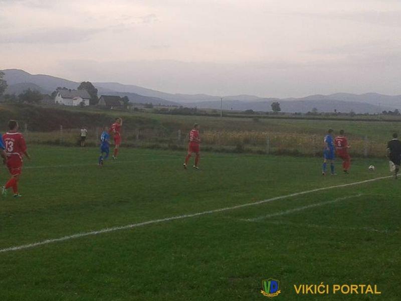 "NK ""Borac"" Izačić - NK ""Sloga"" Bos. Otoka, stadion Balići, rezultat 4:0"
