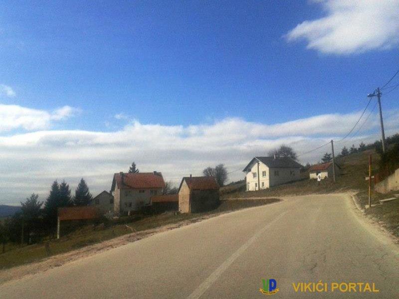 selo Olovo u opštini Kupres