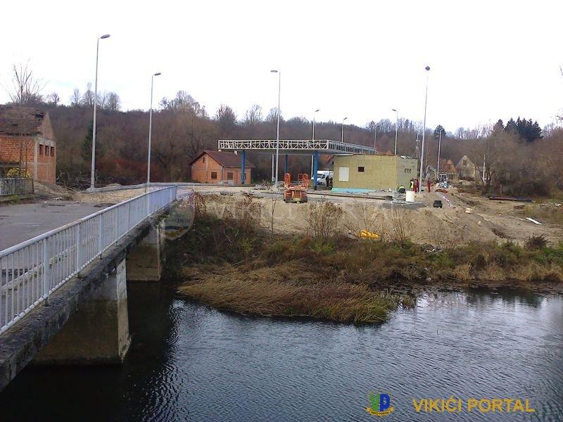 objekat graničnog prelaza Kordunski Ljeskovac u izgradnji
