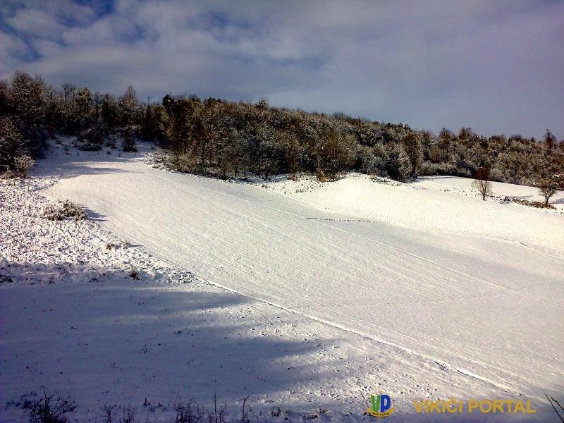 staza skijaških skokova Ćakinovac kod Vikića