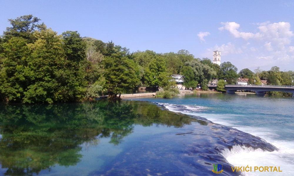 rijeka Una grad Bihać