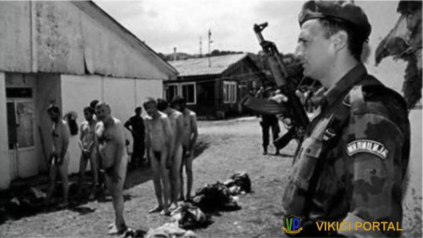 logor za zarobljene Bošnjake Šljivovica kod Užica