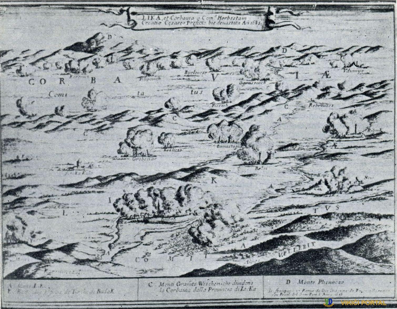 Plješevica na historijskoj kart