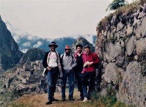 Članovi ekspedicije na Andama (Machu Picchu)