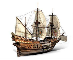 Tip španske galije kojom su došli Šanjolci ma američke kontinente