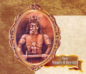 Ban Stjepan II, učvrstio i branio granice zemlje