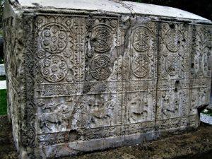 Bosanski vitezovi na stećku iz Zgošće