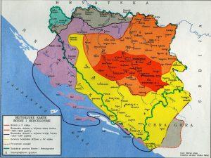 Karta Bosne u doba kralja Tvrtka