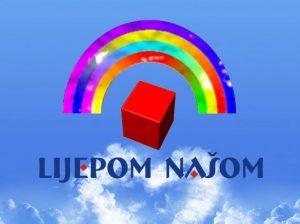 """logo emisije HRT """"Lijepom našom"""""""