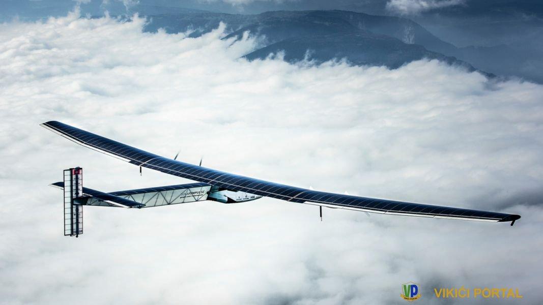 """""""solar impuls 2"""" avion na solarni pogon"""