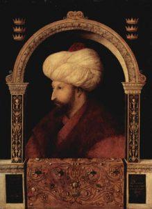 Sultan Mehmed II el Fatih koji je franjevcima izdao Ahdnamu