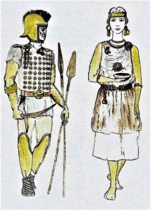 Izgled prastanovnika Bosne (lira), prema arheološkim nalazima u grobovima