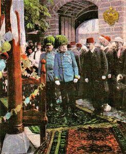 Car Franjo Josip I u posjeti Sarajevu